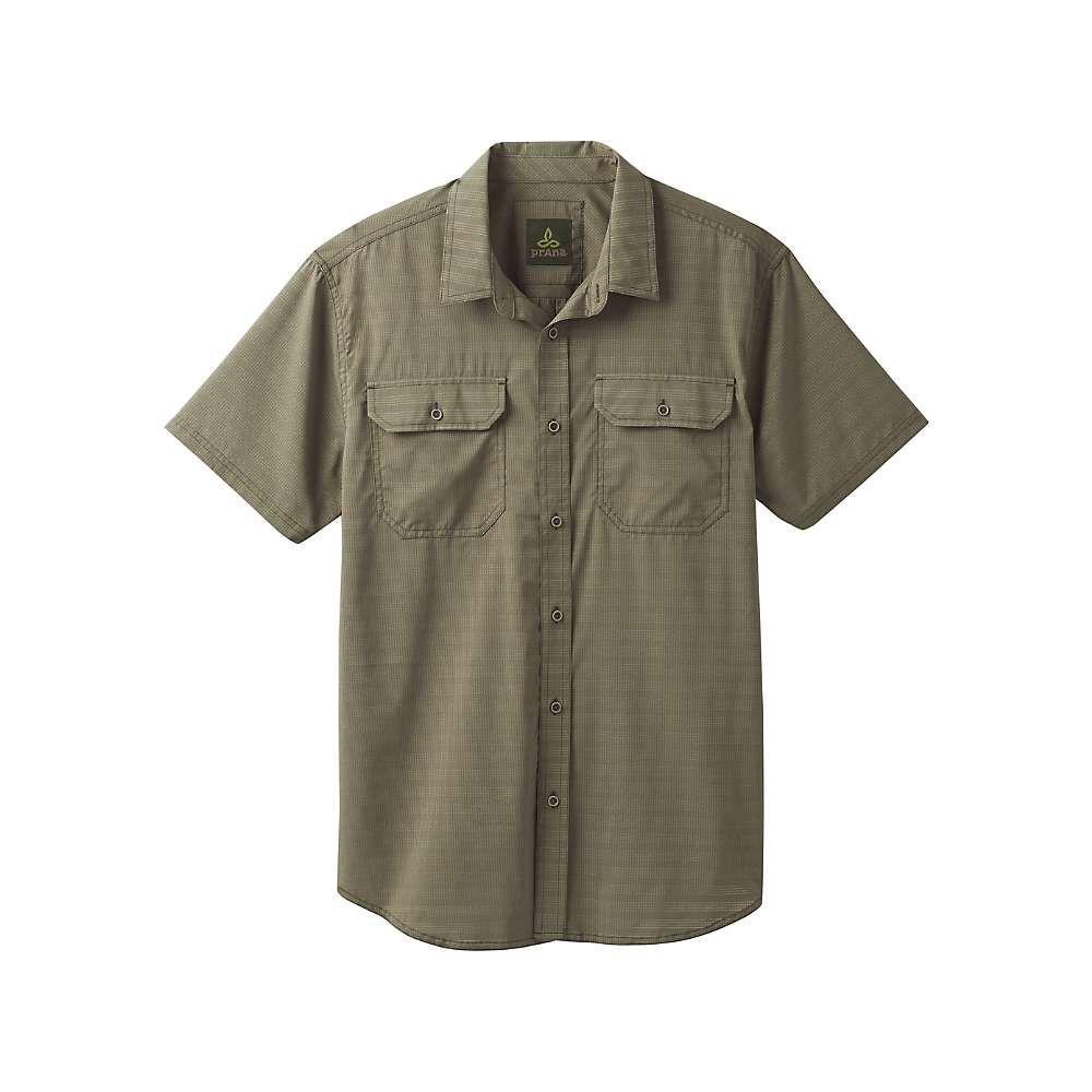 プラーナ Prana メンズ ハイキング・登山 トップス【Cayman Shirt - Tall】Cargo Green