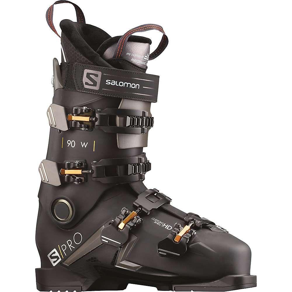 サロモン Salomon レディース スキー・スノーボード ブーツ シューズ・靴【S/Pro 90 Ski Boot】Black/Beluga/Gold Glow