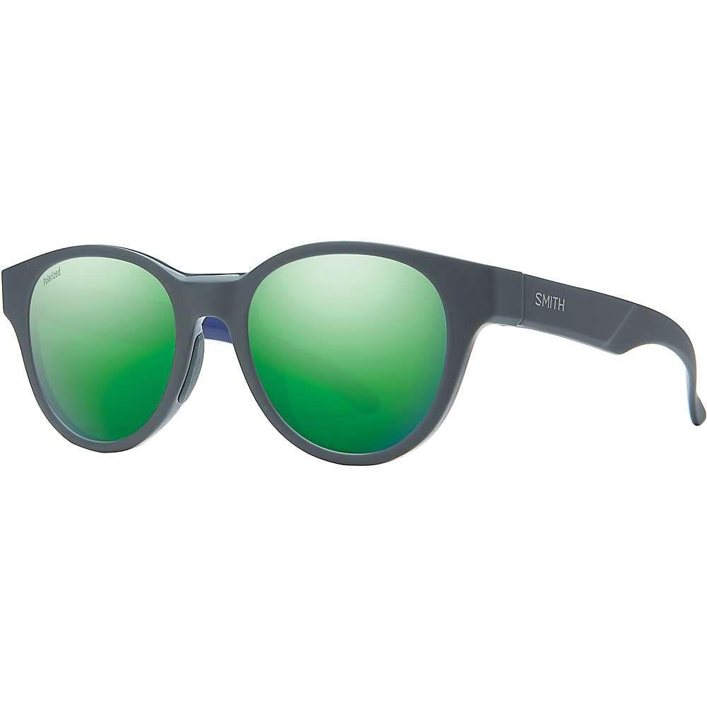 スミス ユニセックス ファッション小物 メガネ・サングラス Matte Smoke Blue/Polarized Green Mirror 【サイズ交換無料】 スミス Smith ユニセックス メガネ・サングラス 【Snare Polarized Sunglasses】Matte Smoke Blue/Polarized Green Mirror