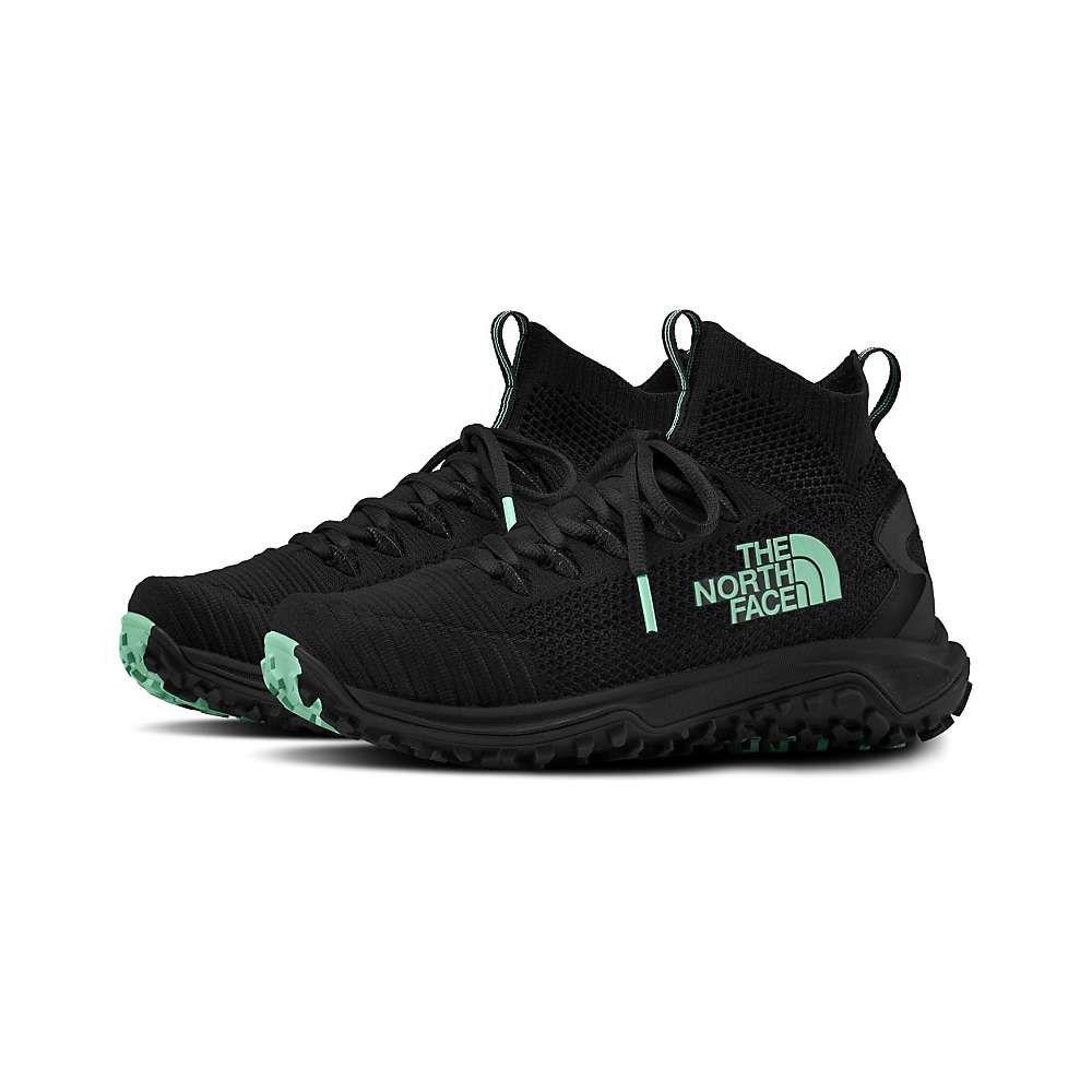 ザ ノースフェイス The North Face レディース ハイキング・登山 シューズ・靴【Truxel Mid Shoe】TNF Black/Beach Glass Green