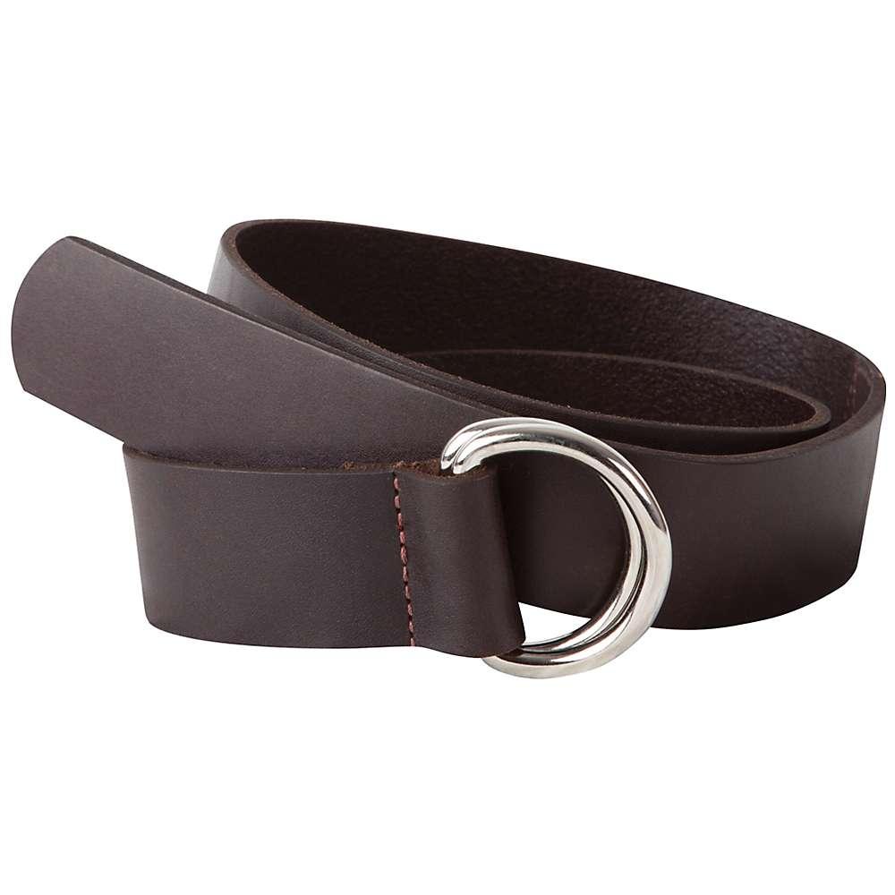 マウンテンカーキス メンズ アクセサリー ベルト【Mountain Khakis Leather D-Ring Belt】Brown