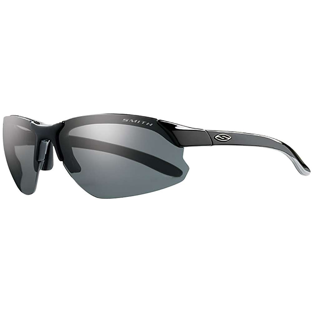 スミス メンズ サイクリング メガネ・サングラス【Smith Parallel D-Max Polarized Sunglasses】Black / Polarized Grey / Ignitor