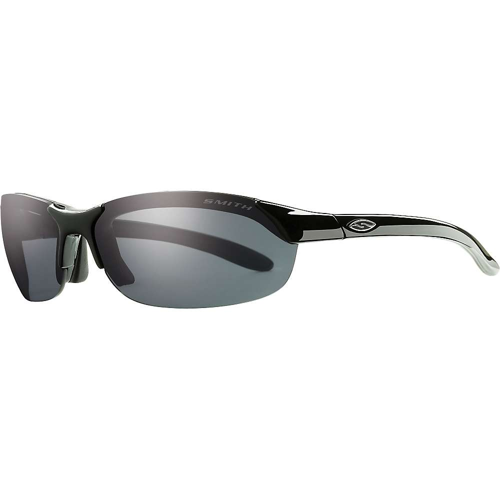 スミス メンズ サイクリング メガネ・サングラス【Smith Parallel Polarized Sunglasses】Black / Polarized Grey / Ignitor