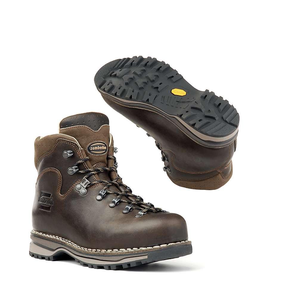 c25b214d6239 ザンバラン メンズ ハイキング シューズ・靴 Zamberlan 1023 Latemar NW Boot Waxed Dark Brown