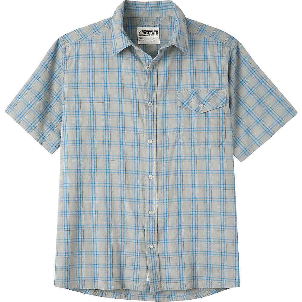 マウンテンカーキス メンズ トップス 半袖シャツ【Mountain Khakis Shoreline SS Shirt】Maritime