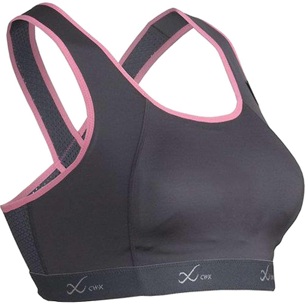 シーダブリュー エックス レディース トップス スポーツブラ【CW-X Xtra Support Running Bra III】Charcoal / Pink