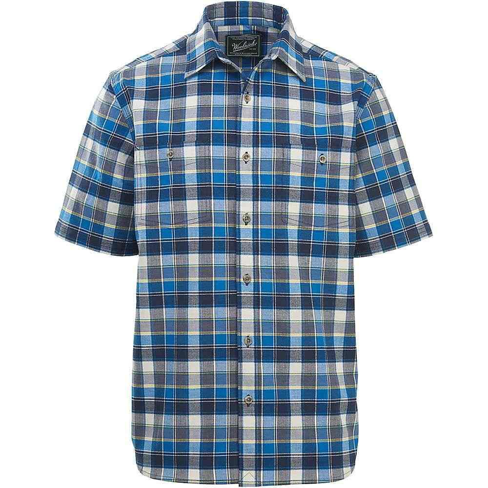 ウールリッチ Woolrich メンズ ハイキング・登山 トップス【Eco Rich Midway Yarn-Dye Shirt】Mountain Blue Plaid