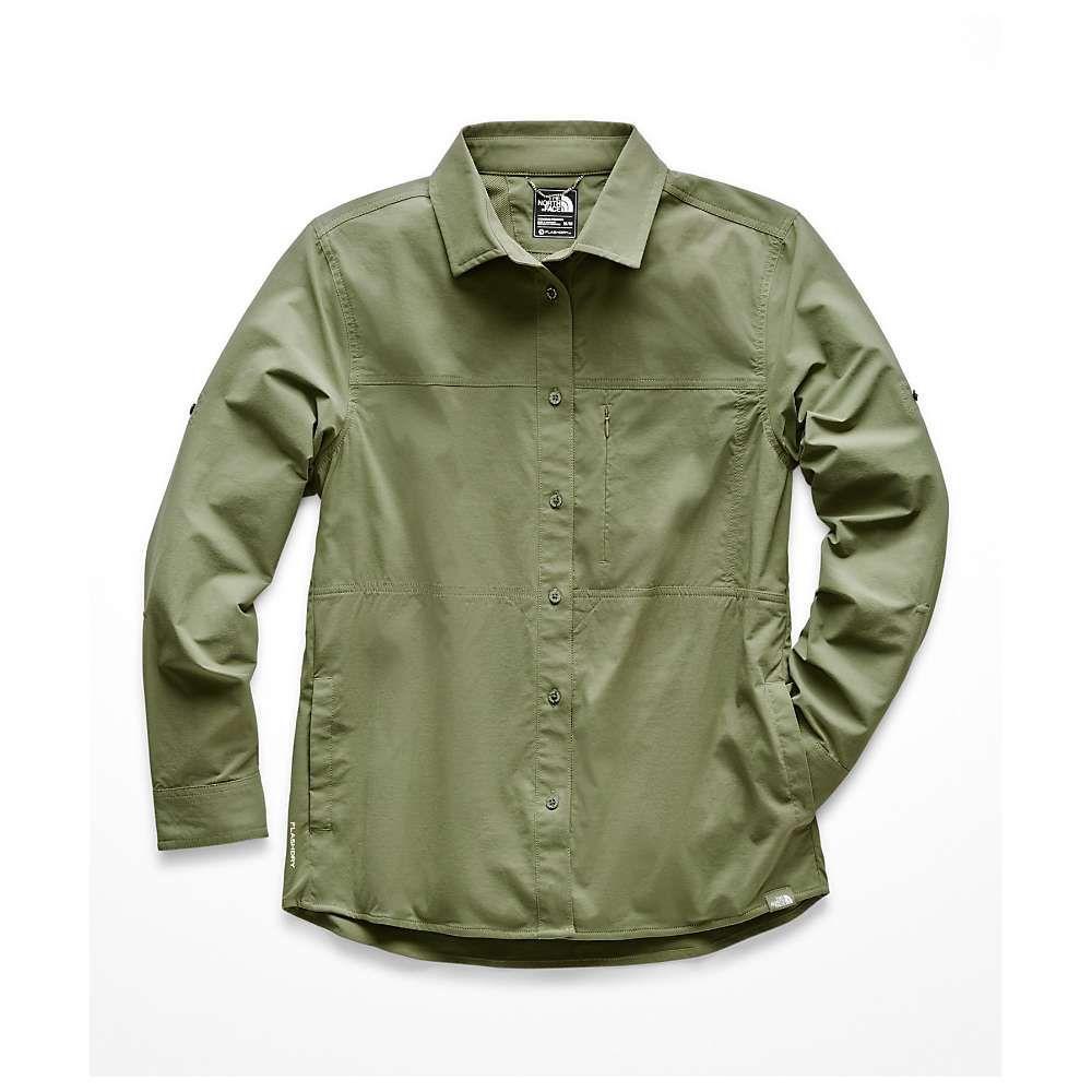 ザ ノースフェイス The North Face レディース ハイキング・登山 シャツ トップス【Boreaz LS Roll-Up Shirt】Four Leaf Clover