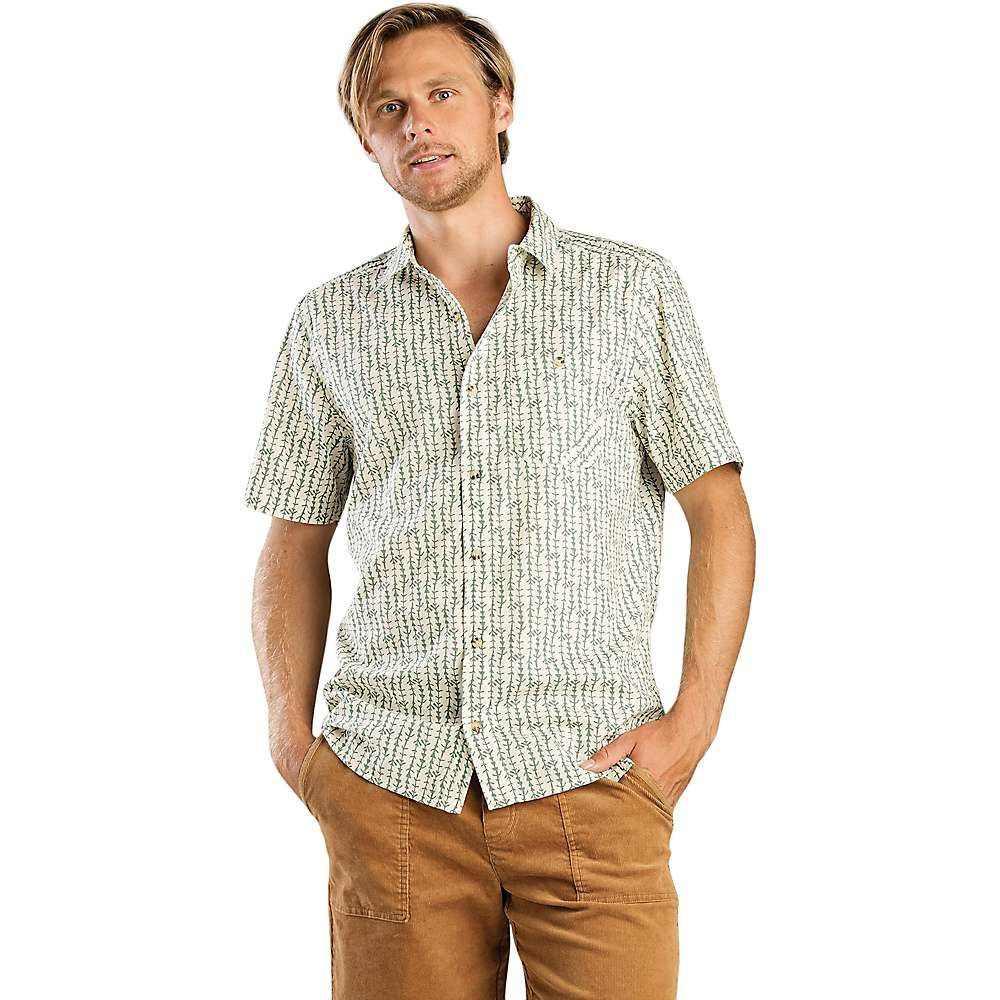 Print Print トードアンドコー Toad ハイキング・登山 メンズ Arrow トップス【Fletch & 半袖シャツ Shirt】Salt SS Co