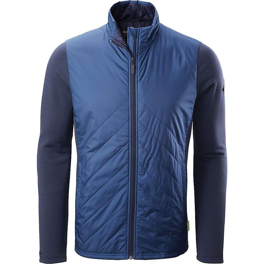 カトマンズ Kathmandu メンズ ジャケット アウター【Hybrid Jacket】Midnight Navy/Blue Teal