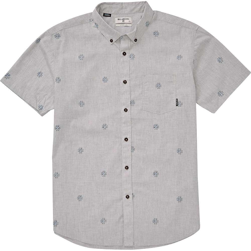 ビラボン Billabong メンズ ハイキング・登山 半袖シャツ トップス【Sundays Mini SS Shirt】Grey Heather