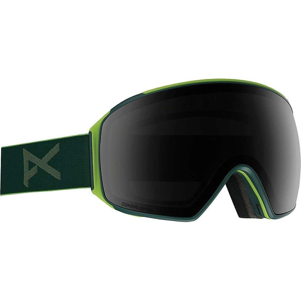 アノン Anon メンズ スキー・スノーボード ゴーグル【M4 Toric Goggle】Green/Sonar Smoke