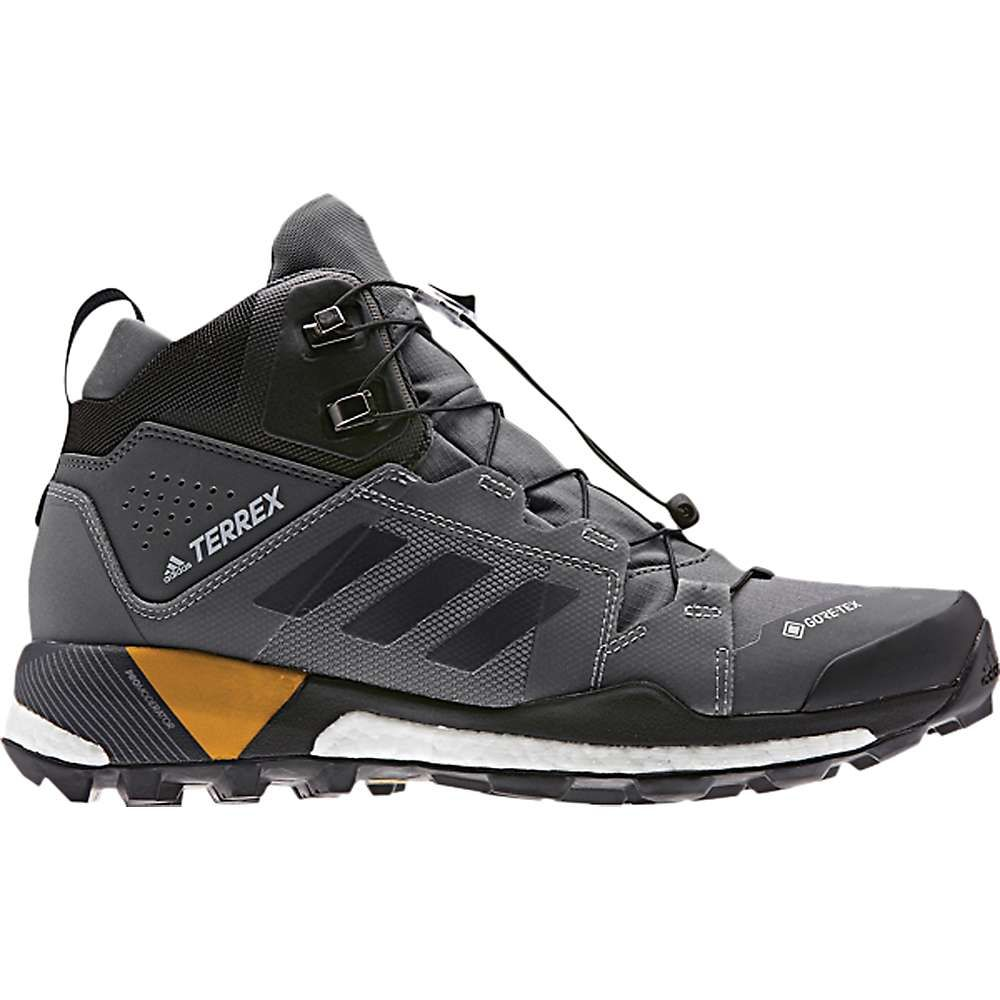 アディダス Adidas メンズ ハイキング・登山 シューズ・靴【Terrex Skychaser XT Mid GTX Shoe】Grey Five/Black/Active Gold