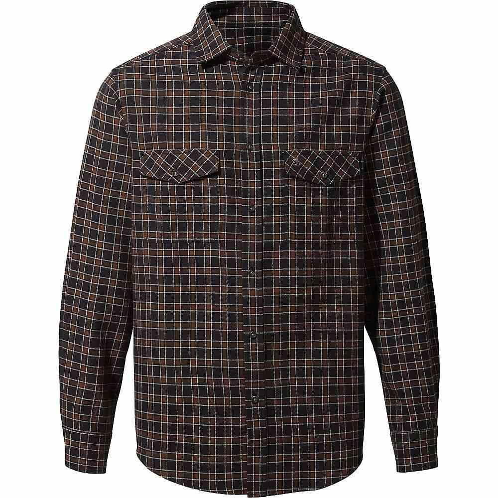 クラッグホッパーズ Craghoppers メンズ ハイキング・登山 シャツ トップス【Kiwi II Check LS Shirt】Black Pepper Check