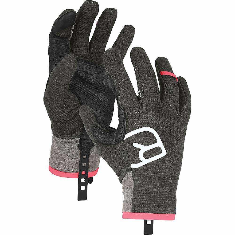 オルトボックス Ortovox レディース スキー・スノーボード グローブ【Fleece Light Glove】Dark Grey Blend