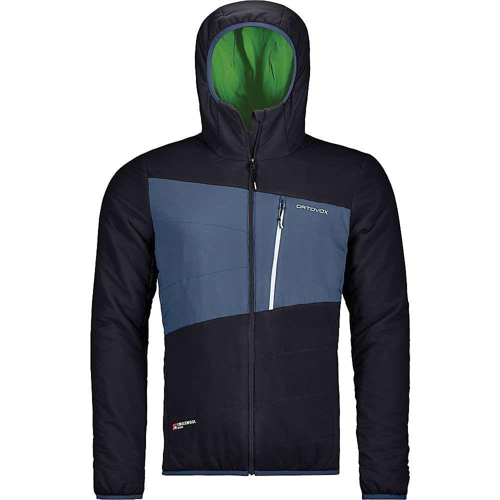 オルトボックス Ortovox メンズ スキー・スノーボード ジャケット アウター【Swisswool Zebru Jacket】Black Raven