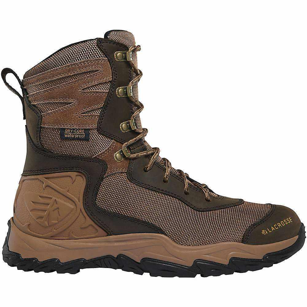 ラクロッセ Lacrosse レディース ハイキング・登山 ブーツ シューズ・靴【Windrose 8IN Boot】Brown/Midnight