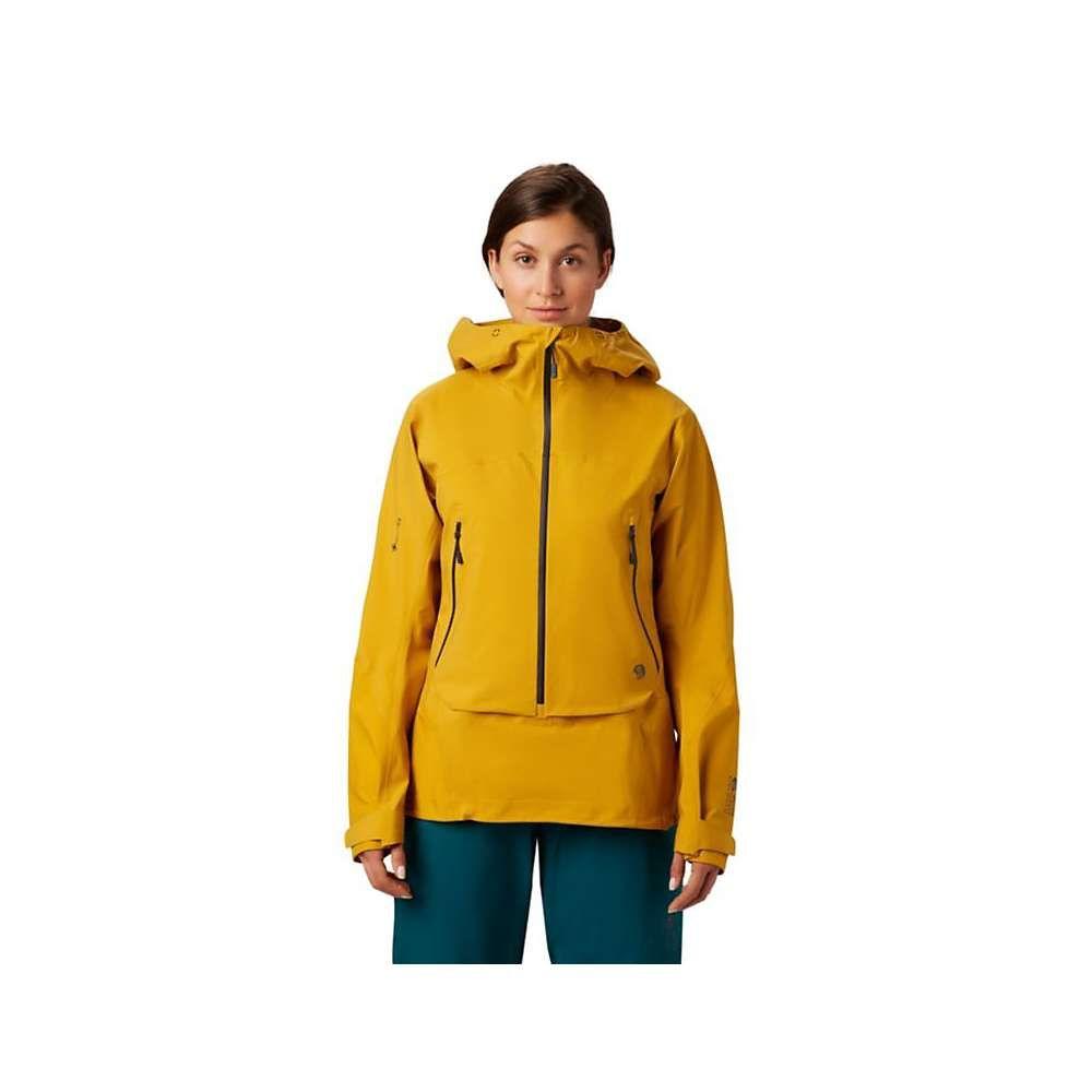 マウンテンハードウェア Mountain Hardwear レディース スキー・スノーボード アノラック アウター【High Exposure GTX C-Knit Anorak】Gold Hour