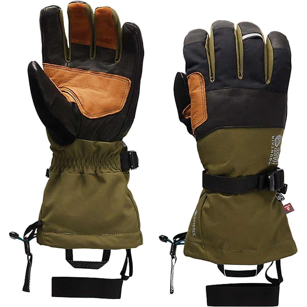 マウンテンハードウェア Mountain Hardwear メンズ クライミング グローブ【High Exposure GTX Glove】Dark Army