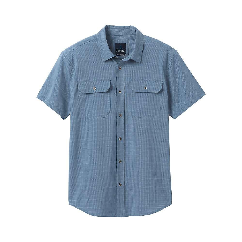プラーナ Prana メンズ ハイキング・登山 トップス【Cayman Shirt - Tall】Blue Note