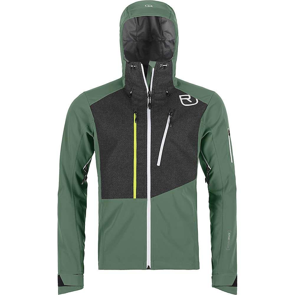 オルトボックス Ortovox メンズ スキー・スノーボード ジャケット アウター【Pordoi Jacket】Green Forest