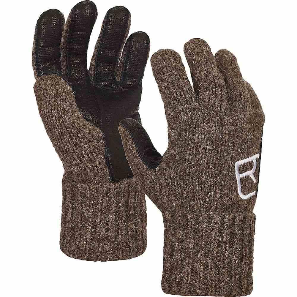 オルトボックス Ortovox ユニセックス スキー・スノーボード グローブ【Swisswool Classic Leather Glove】Black Sheep