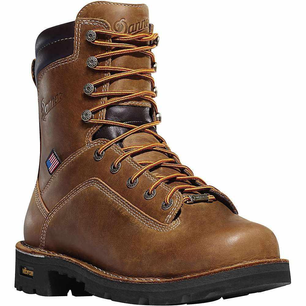 ダナー Danner メンズ ブーツ シューズ・靴【Quarry USA 8IN 400G Insulated GTX Boot】Distressed Brown