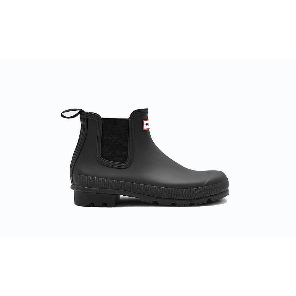 ハンター Hunter メンズ レインシューズ・長靴 シューズ・靴【Original Chelsea】Black