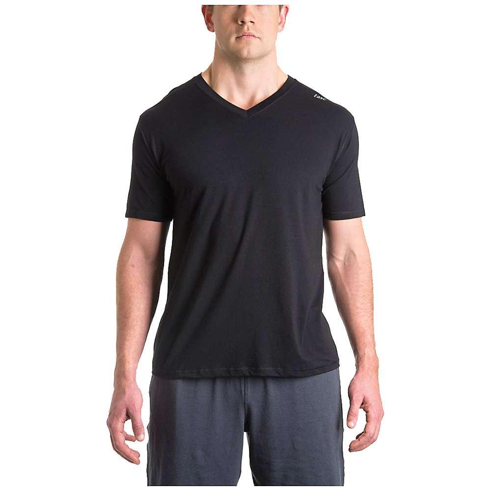 タスク メンズ ランニング ウェア【Tasc Vital V Neck Shirt】Black