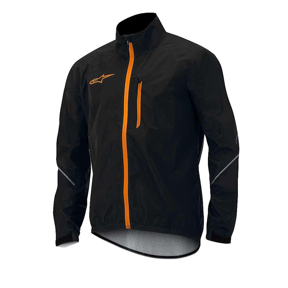 アルパインスターズ メンズ サイクリング ウェア【Alpine Stars Descender Windproof Jacket】Black / Spicy Orange