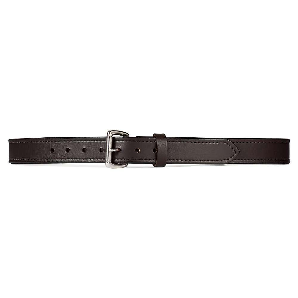 フィルソン メンズ アクセサリー ベルト【Filson 1 1/4IN Double Belt】Brown / Stainless