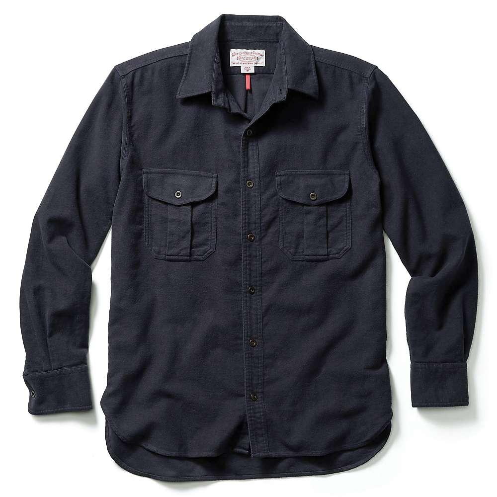 フィルソン メンズ トップス 長袖シャツ【Filson Moleskin Seattle Shirt】Navy