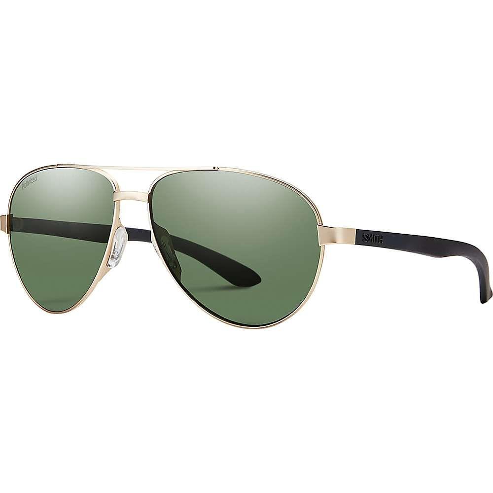 スミス ユニセックス ファッション小物 メガネ・サングラス Matte Gold/Polarized Gray Green 【サイズ交換無料】 スミス Smith ユニセックス メガネ・サングラス 【Salute Polarized Sunglasses】Matte Gold/Polarized Gray Green