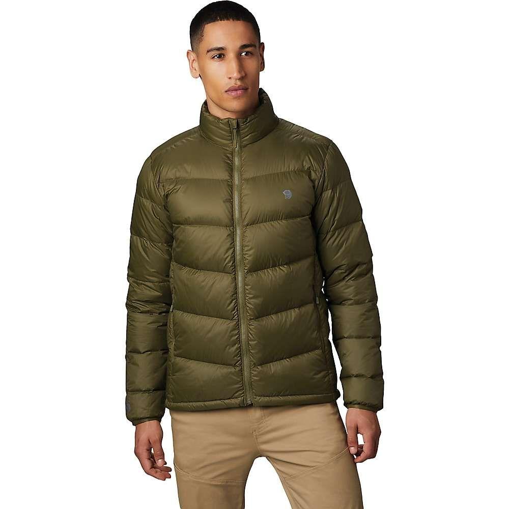 マウンテンハードウェア Mountain Hardwear メンズ ダウン・中綿ジャケット アウター【Mt. Eyak Down Jacket】Combat Green