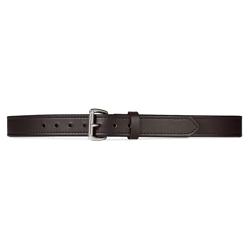 フィルソン メンズ ファッション小物 ベルト Brown/Stainless 【サイズ交換無料】 フィルソン Filson メンズ ベルト 【1 1/4IN Double Belt】Brown/Stainless