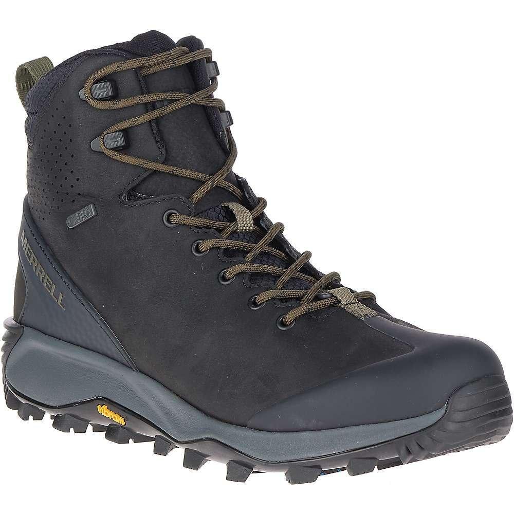 メレル メンズ シューズ・靴 ブーツ Black 【サイズ交換無料】 メレル Merrell メンズ ブーツ シューズ・靴【Thermo Glacier Mid Waterproof Boot】Black