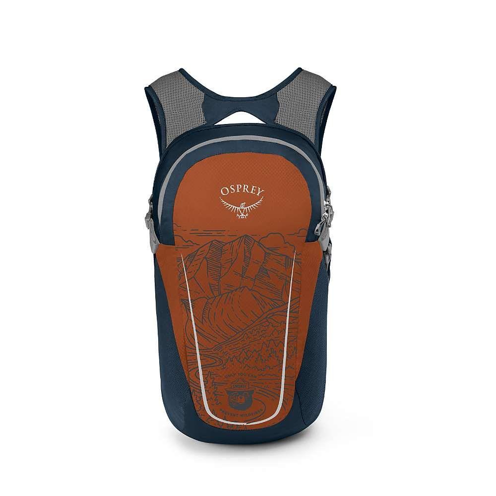 オスプレー Osprey ユニセックス バックパック・リュック バッグ【Landmark Project Collab Smokey Bear Daylite Backpack】Orange/Dark Blue