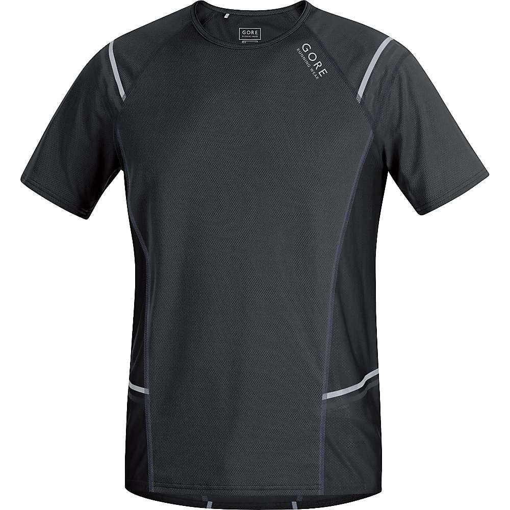 ゴア メンズ ランニング ウェア【Gore Running Wear Mythos 6.0 Shirt】Black / Graphite Grey