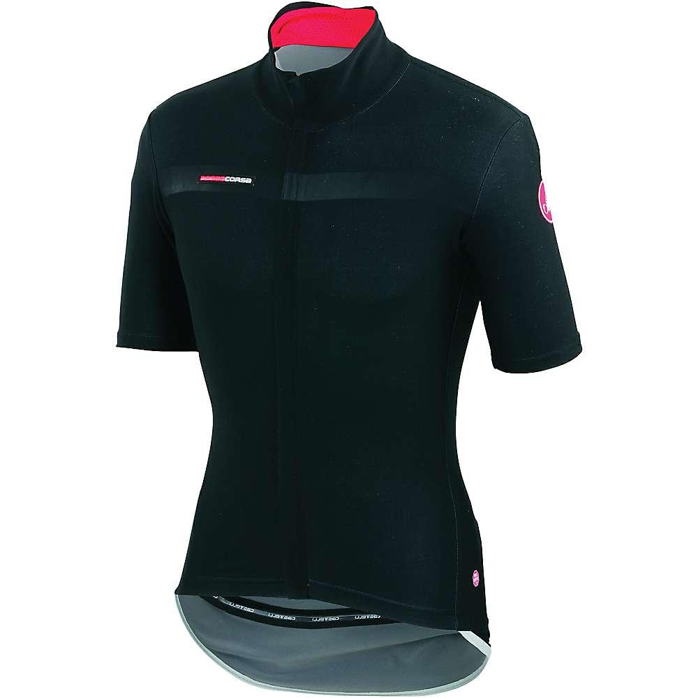 カステリ メンズ サイクリング ウェア【Castelli Gabba 2 SS Jacket】Black