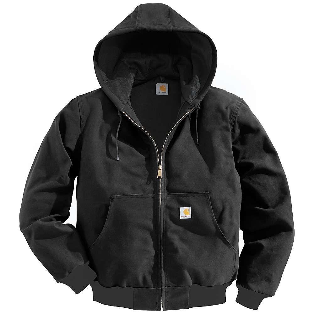 カーハート Carhartt メンズ ジャケット アウター【thermal lined duck active jacket】Black