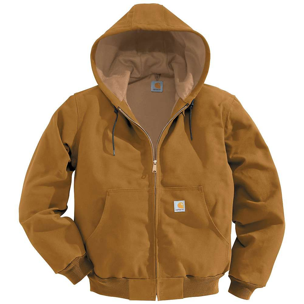 カーハート Carhartt メンズ ジャケット アウター【thermal lined duck active jacket】Carhartt Brown
