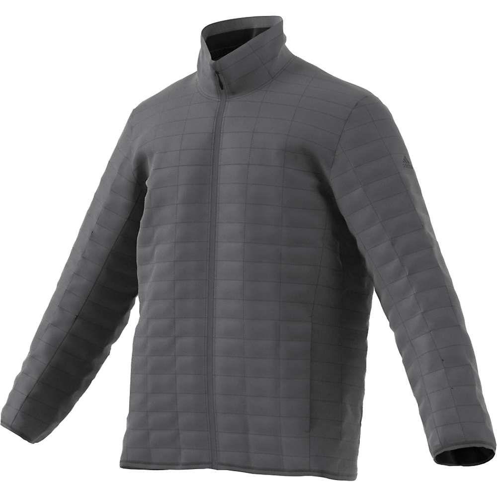 アディダス Adidas メンズ ジャケット アウター【flyloft jacket】Grey Five