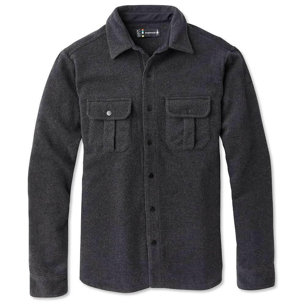 スマートウール Smartwool メンズ ジャケット シャツジャケット アウター【anchor line shirt jacket】Charcoal Heather