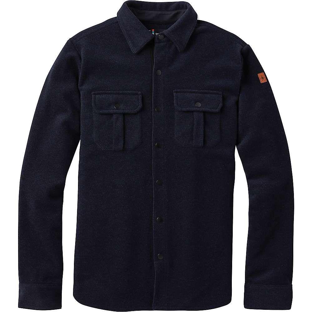 スマートウール Smartwool メンズ ジャケット シャツジャケット アウター【anchor line shirt jacket】Deep Navy Heather