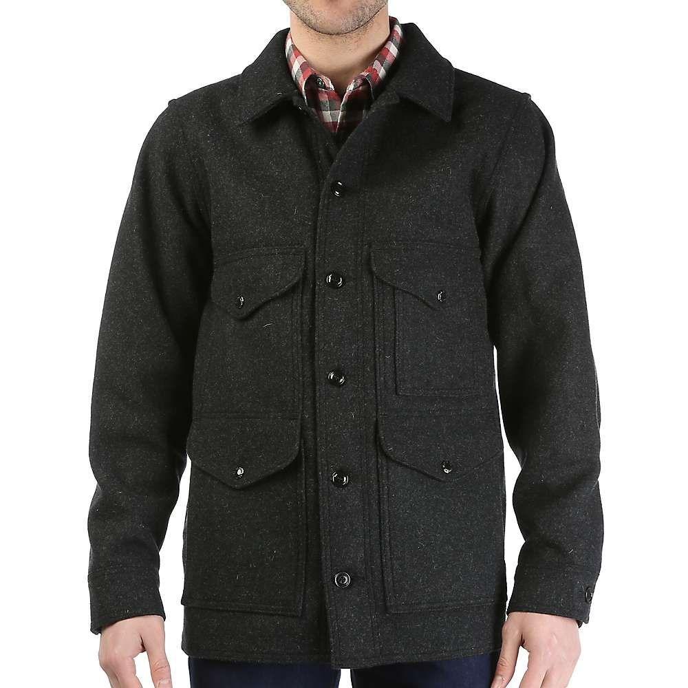 フィルソン Filson メンズ ジャケット アウター【mackinaw cruiser jacket】Charcoal