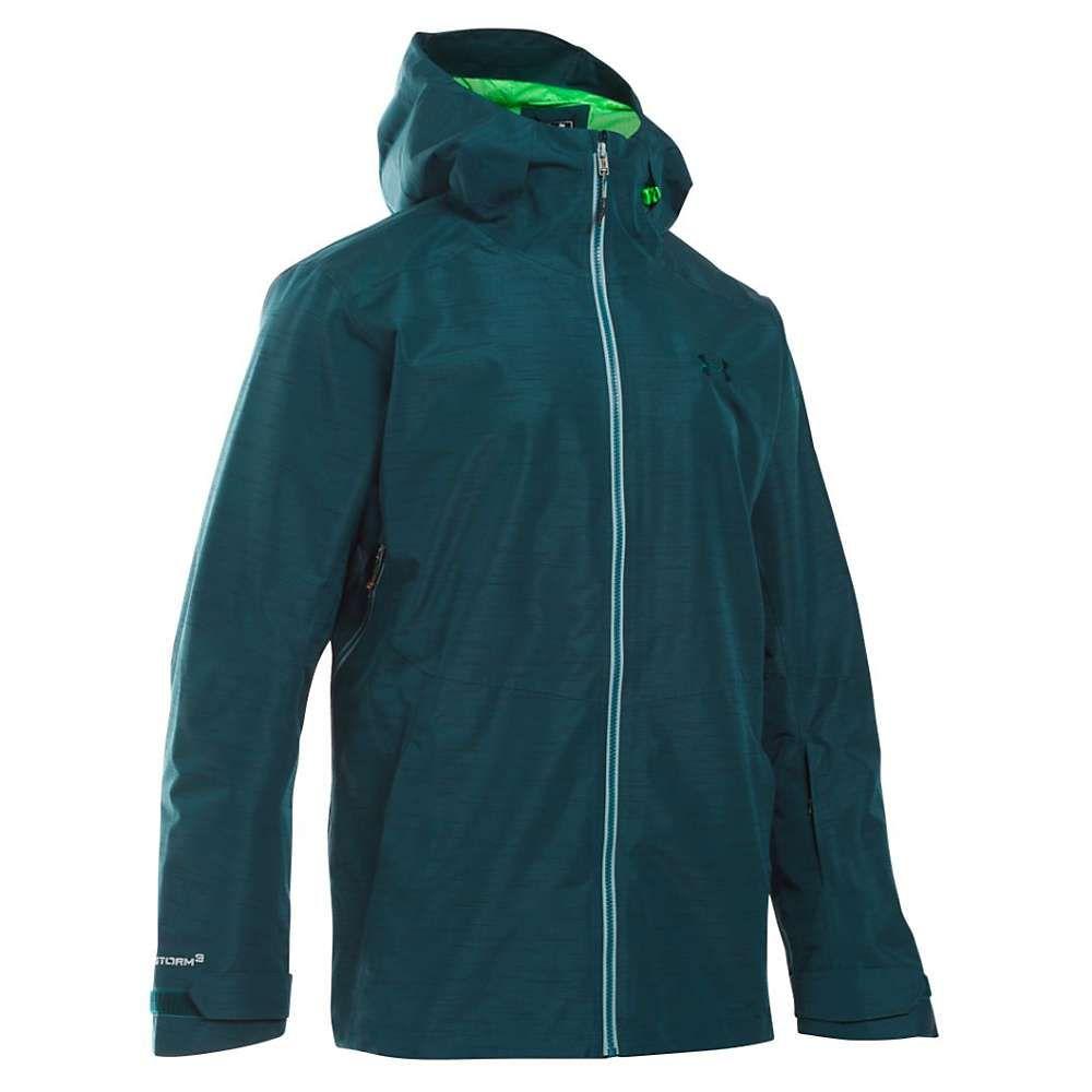 アンダーアーマー Under Armour メンズ ジャケット アウター【ua coldgear infrared haines shell jacket】Nova Teal/Northern Lights/Overcast Grey