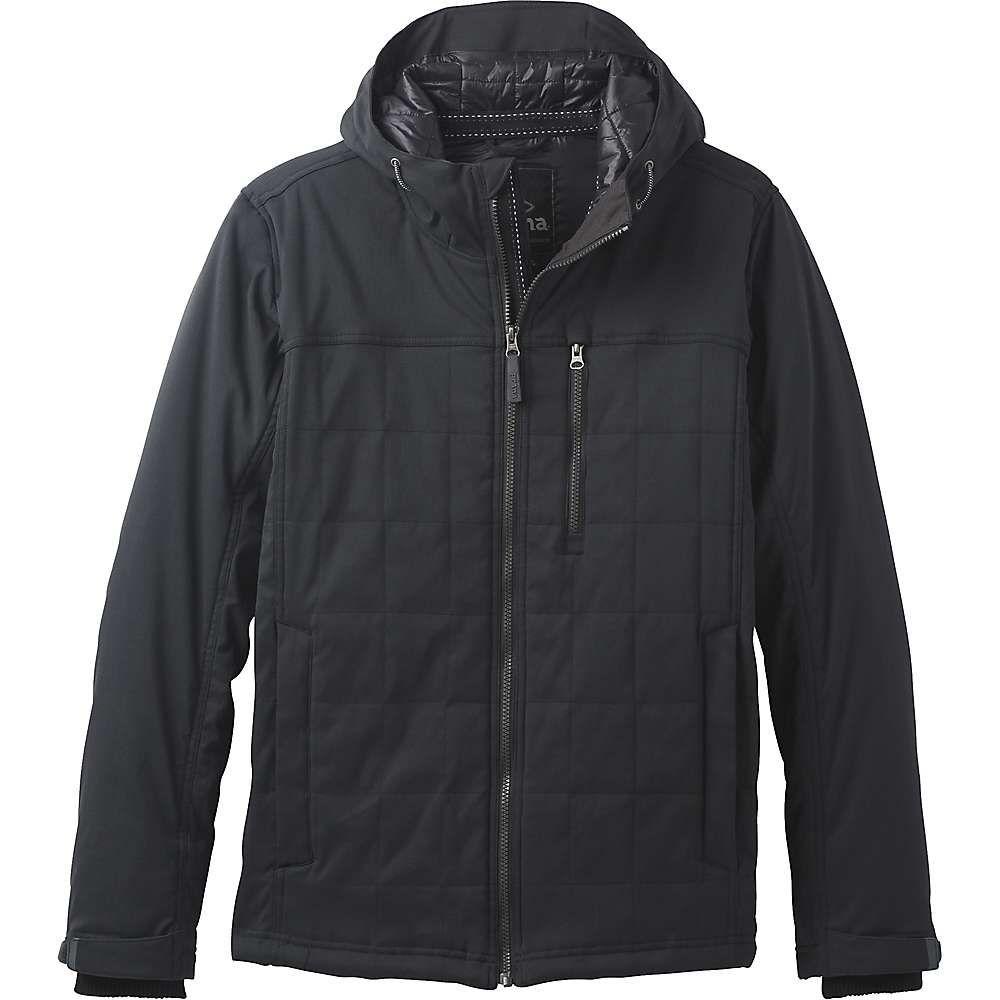 プラーナ Prana メンズ ジャケット アウター【zion quilted jacket】Black