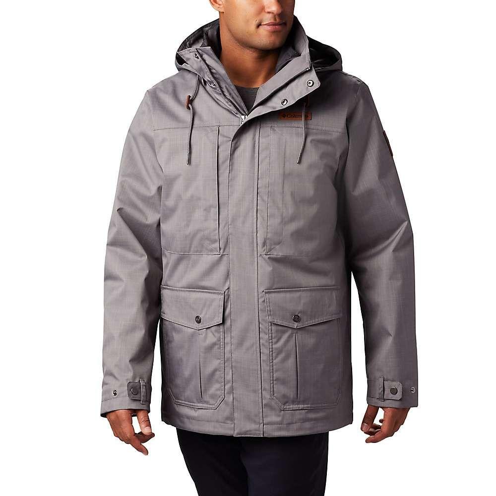 コロンビア Columbia メンズ ジャケット アウター【horizons pine interchange jacket】City Grey