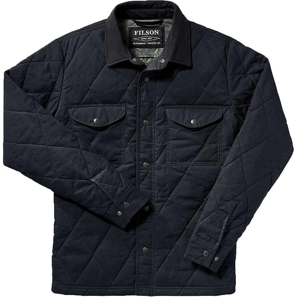 フィルソン Filson メンズ ジャケット アウター【hyder quilted jac-shirt】Faded Navy