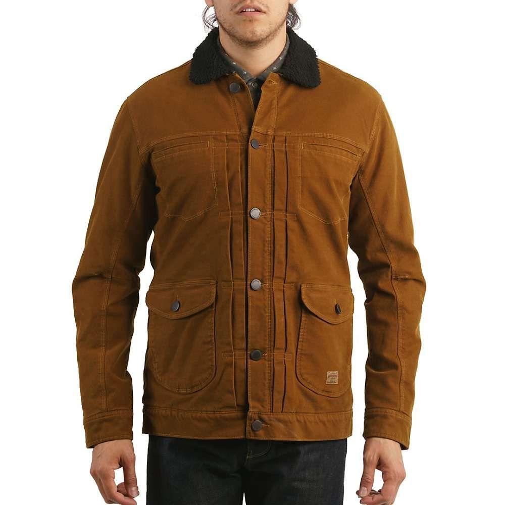 ジェレミア Jeremiah メンズ ジャケット アウター【terra broken twill jacket】Maple